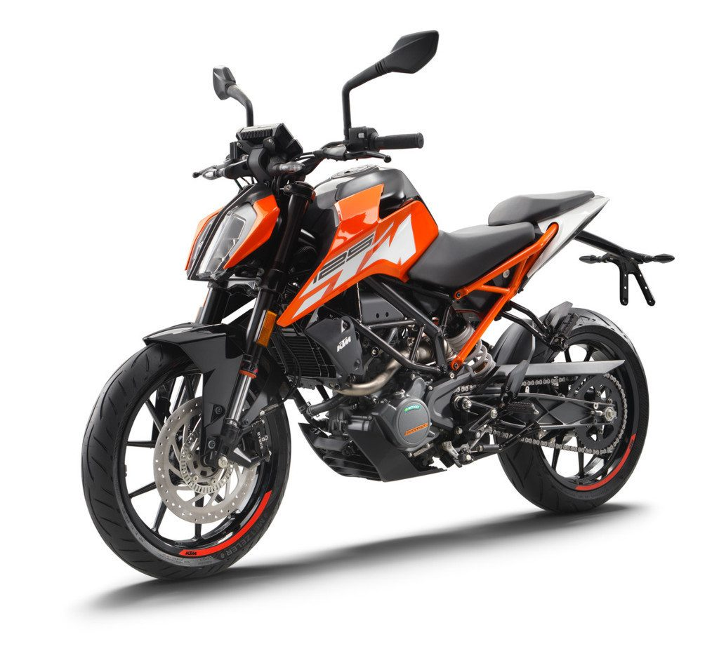 motos más vendidas KTM 125 Duke