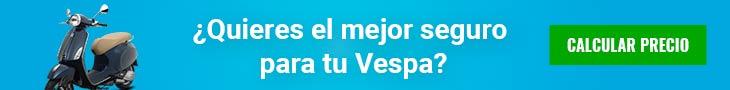 Seguros de moto Vespa