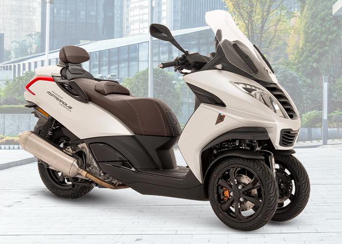 Motos peugeot tres ruedas
